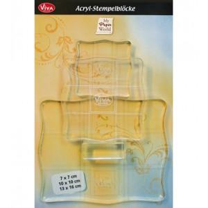 Viva 400390100 - Acrylic Blocks