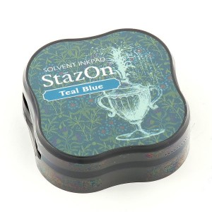 StazOn SZ-MID-63- Малки мастила - Teal Blue