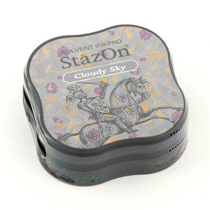 StazOn SZ-MID-34- Малки мастила - Cloudy Sky
