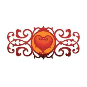 Sizzix 658946 - Бордюрна рамка и сърце