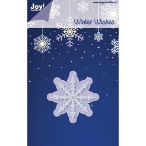 Joy crafts 6002/2018 - Снежинка Nr.1