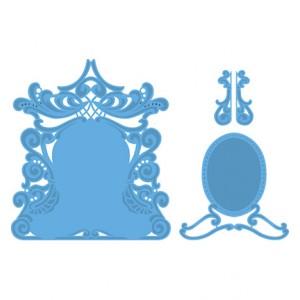 Marianne Design LR0277 - Огледалото на Петра