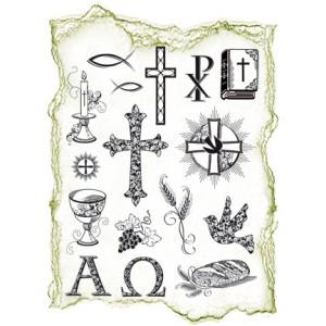 Viva - Силиконови печати - Christian Symbols