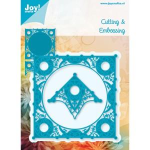 Joy crafts 6002/0173 - Ажурен ъгъл и квадрат