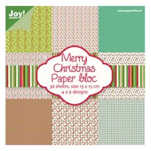 Joy Crafts 6011/0018 - Блокче дизайнерска хартия - Christmas Nr.2