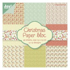 Joy Crafts 6011/0017 - Блокче дизайнерска хартия - Christmas Nr.1