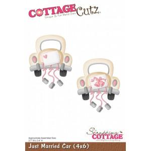 Cottage Cutz CC072 - Just Married Car (4x6)