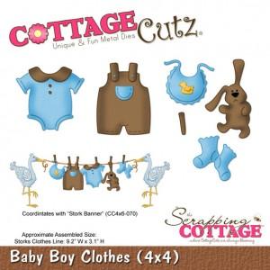 Cottage Cutz CC492 - Baby Boy Clothes (4x4)