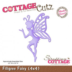 Cottage Cutz CC330 - Filigree Fairy (4x4)
