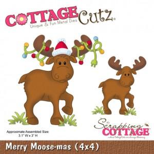 Cottage Cutz CC519 - Merry Moose-Mas (4x4)