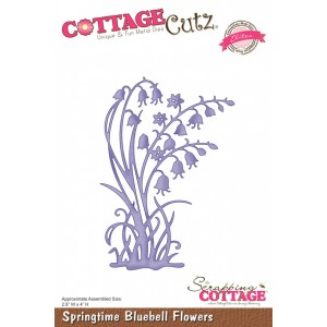 Cottage Cutz ССE013 - Springtime Bluebell Flowers