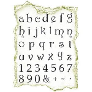 Viva 4003.046.00 - Силиконови печати - Small Alphabet