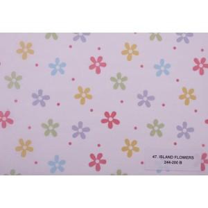 Тишу хартия 047 - ISLAND FLOWERS