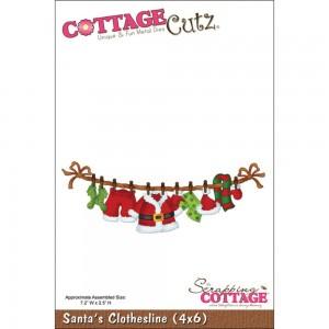 Cottage Cutz CC026 - Santa's Clothesline (4x6)
