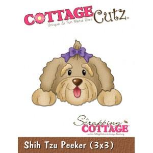 Cottage Cutz CC066 - Shih Tzu Peeker (3x3)