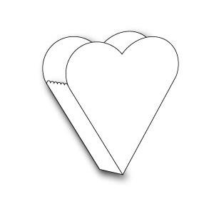 Memory Box 98523 - Precious Heart Box