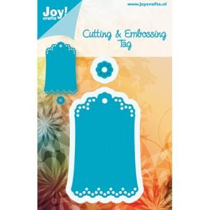 Joy crafts 6002/0285 - Дантелено тагче модел 2