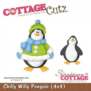 Cottage Cutz CC444 - Chilly Willy Penguin (4x4)