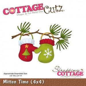 Cottage Cutz CC521 - Mitten Time (4x4)