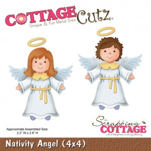 Cottage Cutz СС429 - Nativity Angel (4x4)