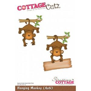 Cottage Cutz CC068 - Hanging Monkey (4x6)