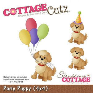Cottage Cutz CC362 - Party Puppy (4x4)
