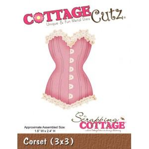 Cottage Cutz CC089 - Corset (3x3)