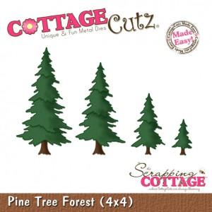 Cottage Cutz CC145 - Pine Tree Forest (4x4)