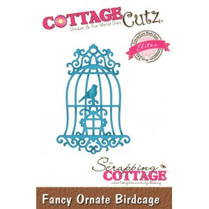 Cottage Cutz ССE027 - Fancy Ornate Birdcage