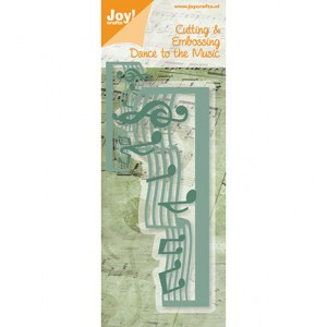 Joy crafts 6002/0272 - Музикални ноти