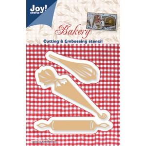 Joy crafts 6002/0307 - Телена бъркалка, торба за сладкиши и точилка