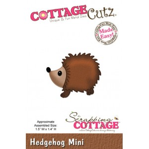 Cottage Cutz CC143 - Hedgehog (Mini)