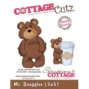 Cottage Cutz CC092 - Mr. Snuggles (3x3)