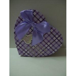 Лилава кутия сърце - 2