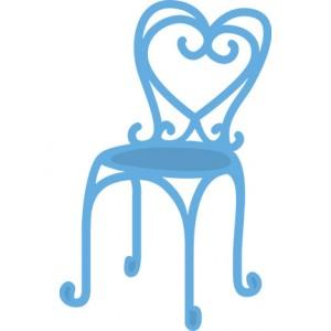 Marianne Design LR0297 - Стол от френско кафене