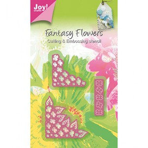 Joy crafts 6002/0267 - Ъгли с Хортензия