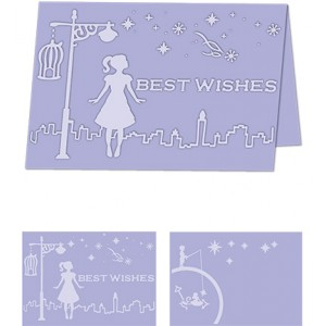 Craftwell EF-WHW-A4 - Папка за релеф А4 - Whimsical Wishes