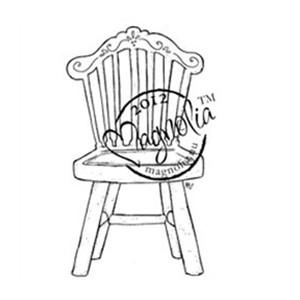 Magnolia DooHickeys 515020-1 / Гумен печат - Old Swedish Chair