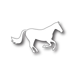 Poppystamps 996 - Galloping Stallion