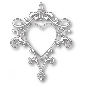 Memory Box 98780 - Queen of Hearts