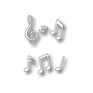 Memory Box 98747 - Musical Motif