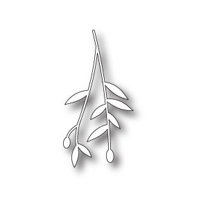 Memory Box 98803 - Small Olive Branch