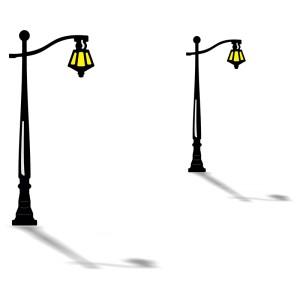 Cheery Lynn Designs B130 - Colonial Lamp Post