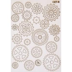 СЕТ006 / A5 - Комплект с елементи от бирен картон
