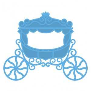 Marianne Design LR0302 - Princess carriage