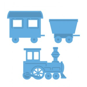 Marianne Design LR0308 - Train