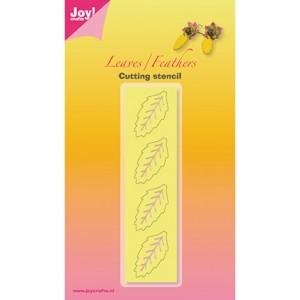 Joy crafts 6002/3001 - Leaf
