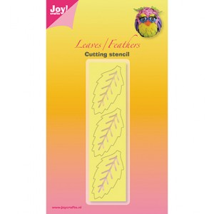 Joy crafts 6002/3002 - Leaf