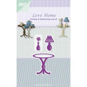 Joy crafts 6002/0339 - Маса, лампа и ваза