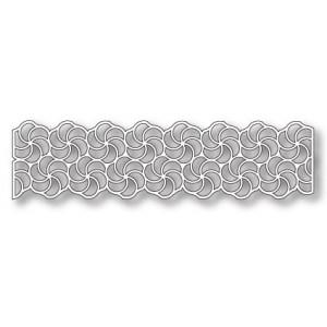 Poppystamps 1025 - Swirly Curl Border Outline